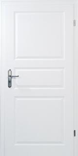 PRÜM-Tür CLASSIC CK3 WEISSLACK