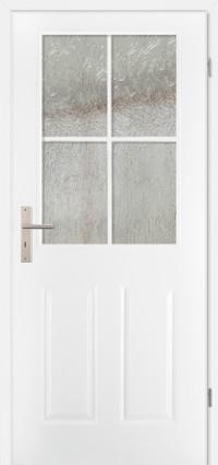 PRÜM-Tür CLASSIC CKL4 WEISSLACK