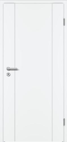 PRÜM-Tür INTARSIA 1/FL WEISSLACK